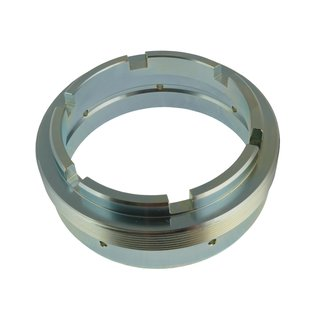 Retainer ring nut rear  axle wheel bearing Lancia FULVIA 1. serie