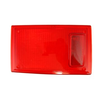 Rear right red light glass