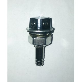 washer nozzle for the windscreen