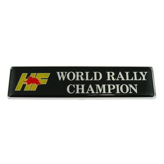 Emblem HF world rally champion  verde york