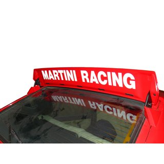 Sticker Martini Racing white 84 x 7,5
